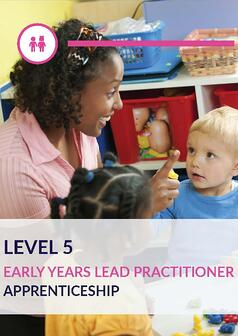 Early Years Lead Practitioner Level 5 Learner Leaflet_Page_1