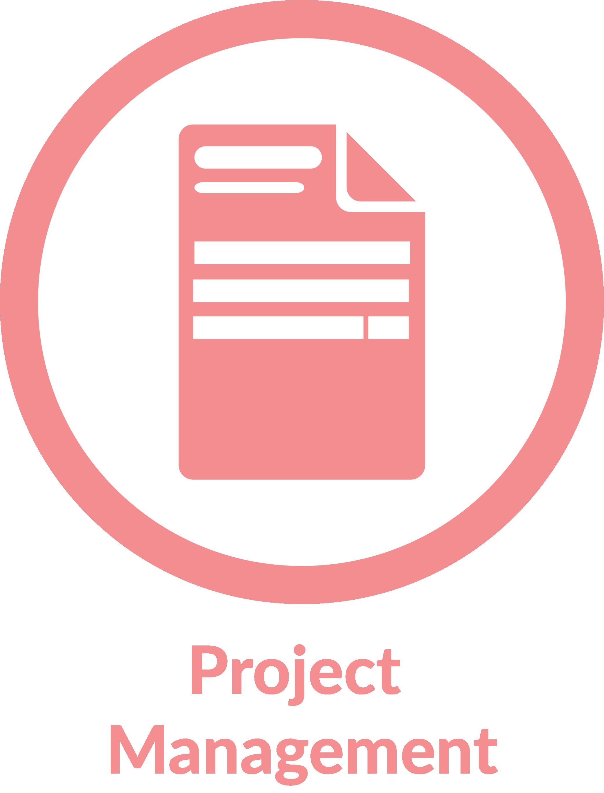 Super Admin logo Proj. management text
