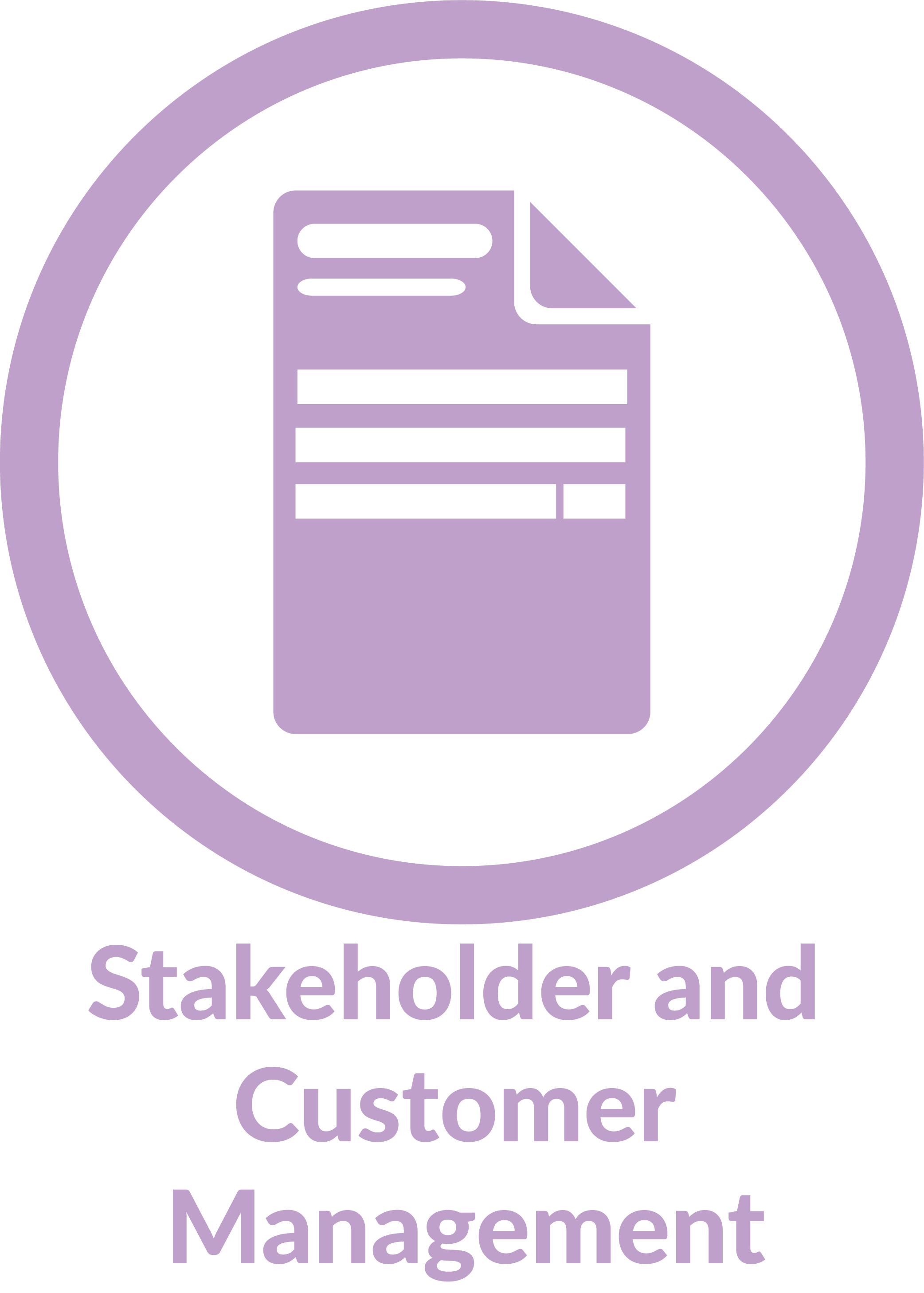 Super Admin logo and text Stakeholder and Customer