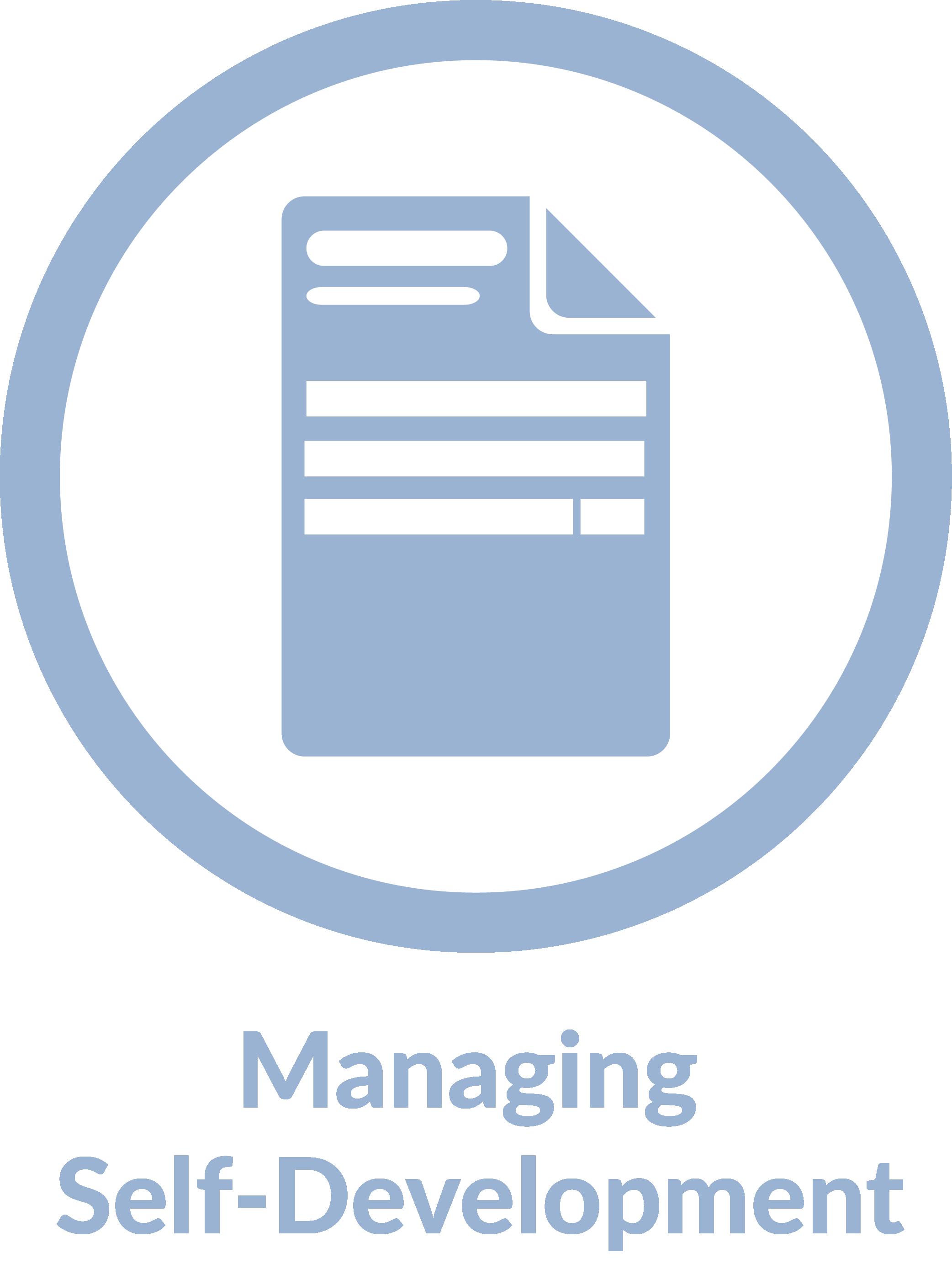 Super Admin logo and text managing self-dev